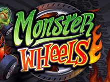Игровой аппарат Monster Wheels